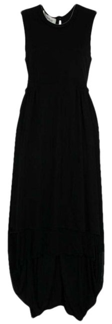 Saint Laurent Paris Pleated Evening Dress Image 0