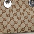 Gucci 9gguto040 Vintage Canvas Leather Tote in Brown Image 10