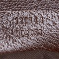 Gucci 9gguto040 Vintage Canvas Leather Tote in Brown Image 6