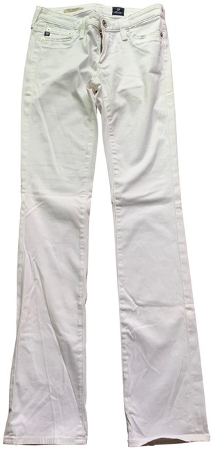 Item - White Like New Ballad Boot Cut Jeans Size 25 (2, XS)