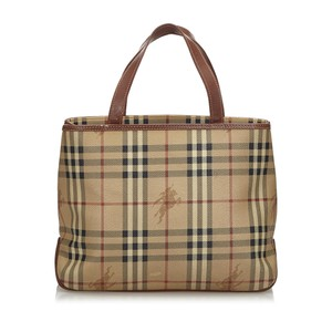 Burberry 9gbuto032 Vintage Tote in Brown