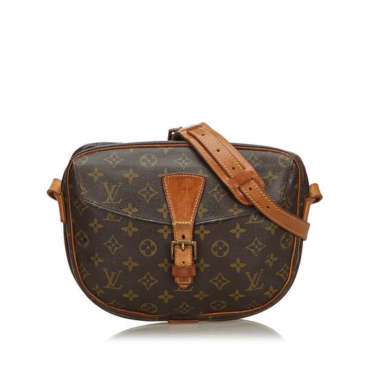 Preload https://img-static.tradesy.com/item/25836720/louis-vuitton-jeune-fille-monogram-france-small-brown-coated-canvas-leather-cross-body-bag-0-0-540-540.jpg