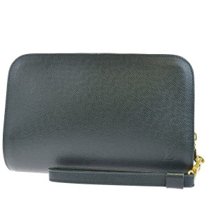 Louis Vuitton Made In France Green Clutch