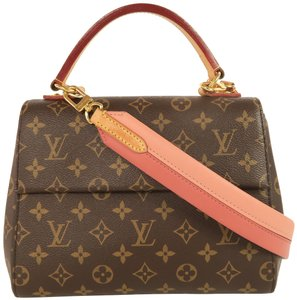 Louis Vuitton Lv Cluny Monogram Canvas Satchel in Brown