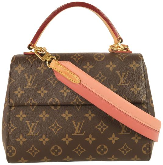 Preload https://img-static.tradesy.com/item/25837385/louis-vuitton-cluny-bb-brown-monogram-canvas-satchel-0-1-540-540.jpg