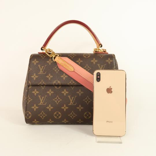 Louis Vuitton Lv Cluny Monogram Canvas Satchel in Brown Image 1