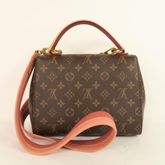Louis Vuitton Lv Cluny Monogram Canvas Satchel in Brown Image 2