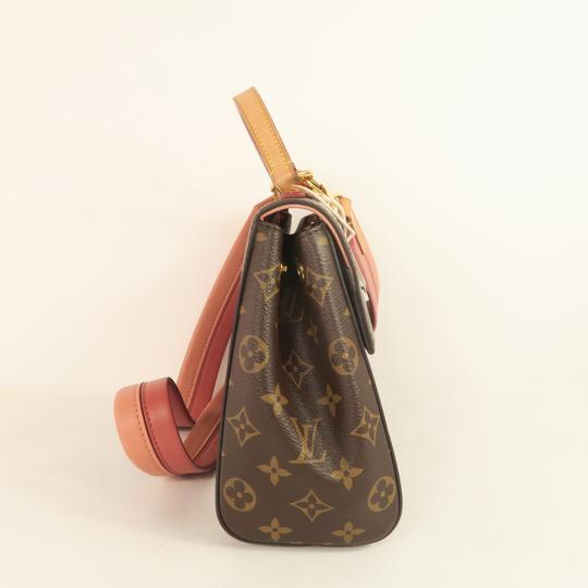 Louis Vuitton Lv Cluny Monogram Canvas Satchel in Brown Image 4