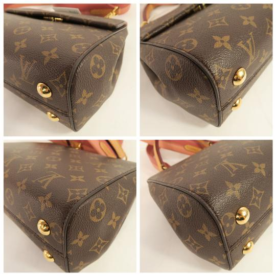 Louis Vuitton Lv Cluny Monogram Canvas Satchel in Brown Image 6