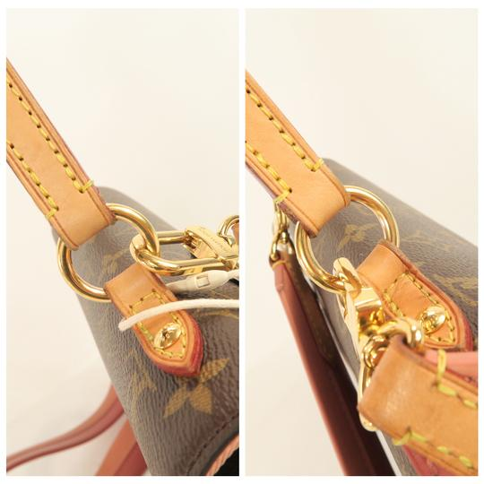 Louis Vuitton Lv Cluny Monogram Canvas Satchel in Brown Image 8