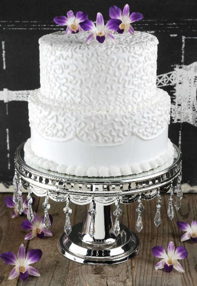 Silver Crystal Cake Stand Bling Cake Stand Reception Decoration 60 Off Retail