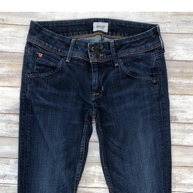 Hudson Skinny Jeans-Medium Wash Image 2