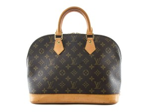 Louis Vuitton Made In France Tote in Brown