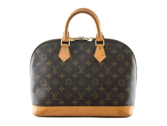 Louis Vuitton Made In France Tote in Brown Image 2