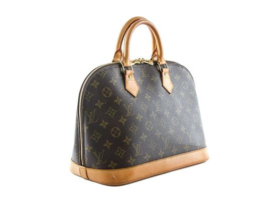 Louis Vuitton Made In France Tote in Brown Image 3