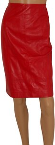 Dana Buchman Skirt RED