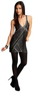 Salvage Dress Tank Adjustable Shimmer Tunic