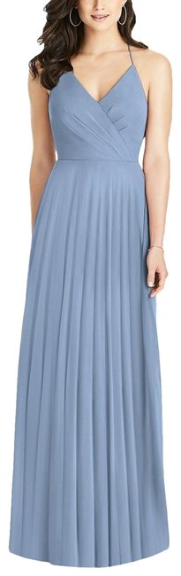 Item - Blue (Cloudy) Style No: 3021 Long Formal Dress Size 6 (S)