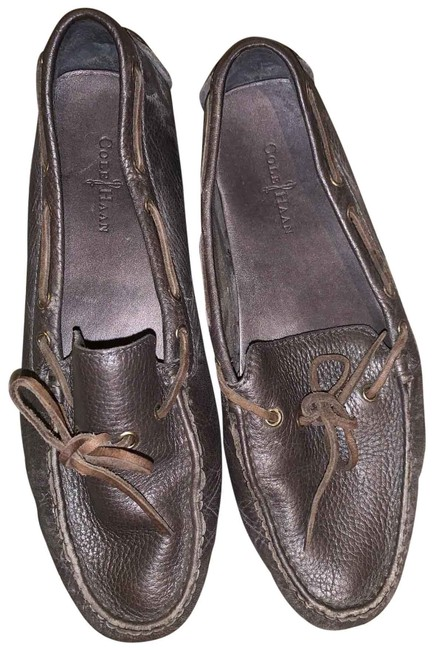 Item - Brown Leather Flats Size US 8 Regular (M, B)