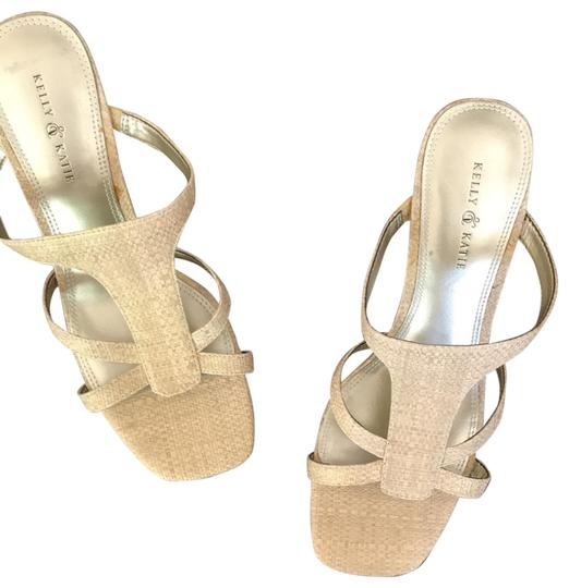 Preload https://img-static.tradesy.com/item/25838608/kelly-and-katie-tangold-shimmer-faux-weeve-sandals-size-us-8-regular-m-b-0-2-540-540.jpg