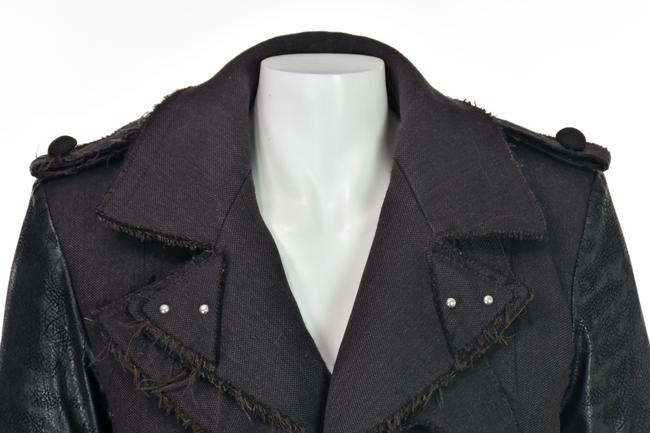 Altuzarra Quilted Faux Leather Leather Leather Sleeves Trench Coat Image 1