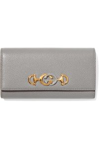 Gucci Zumi embellished textured-leather wallet