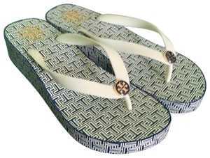 Tory Burch Spring T small/New Ivory Sandals
