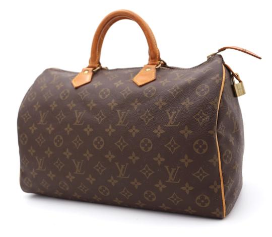 Louis Vuitton Speedy Vintage Satchel in Monogram Image 1