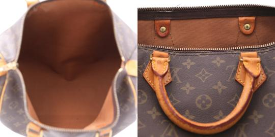Louis Vuitton Speedy Vintage Satchel in Monogram Image 11