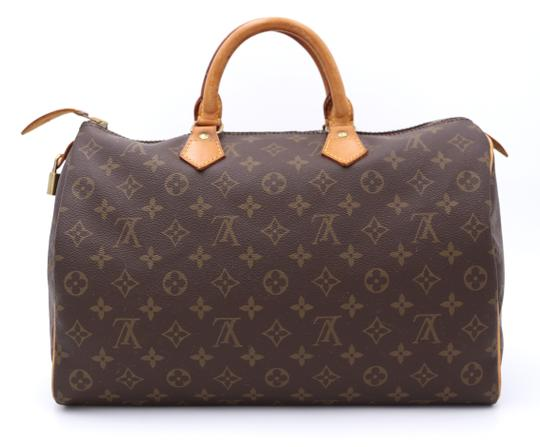 Louis Vuitton Speedy Vintage Satchel in Monogram Image 2