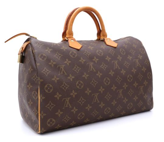 Louis Vuitton Speedy Vintage Satchel in Monogram Image 3