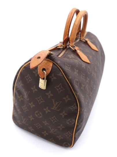 Louis Vuitton Speedy Vintage Satchel in Monogram Image 4