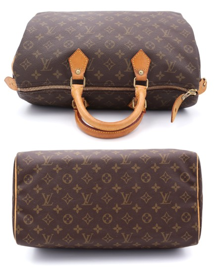 Louis Vuitton Speedy Vintage Satchel in Monogram Image 6