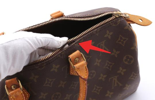 Louis Vuitton Speedy Vintage Satchel in Monogram Image 7