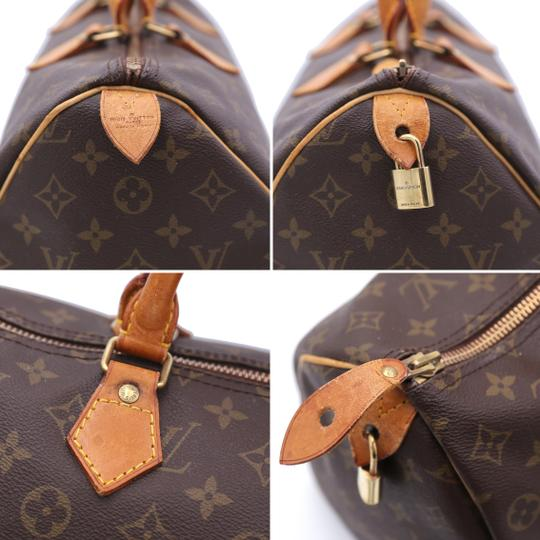 Louis Vuitton Speedy Vintage Satchel in Monogram Image 9