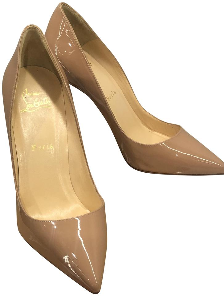 39e3fcc2ebe Christian Louboutin Nude Pigalle 100 Patent Calf Pumps Size EU 38.5  (Approx. US 8.5) Narrow (Aa, N) 25% off retail