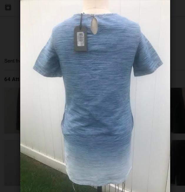 AllSaints short dress Blue on Tradesy Image 5