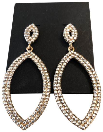 Preload https://img-static.tradesy.com/item/25838972/clear-crystal-oval-frops-earrings-0-1-540-540.jpg