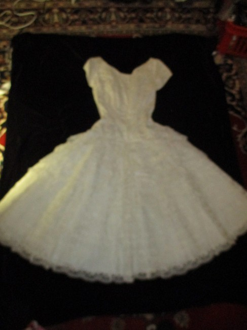 New DEB Frock Vintage Lace Tulle Oneam005 Dress Image 5