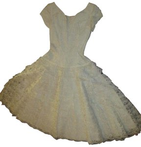 New DEB Frock Vintage Lace Tulle Oneam005 Dress