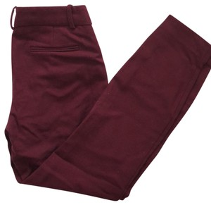 J.Crew Trouser Pants Burgundy