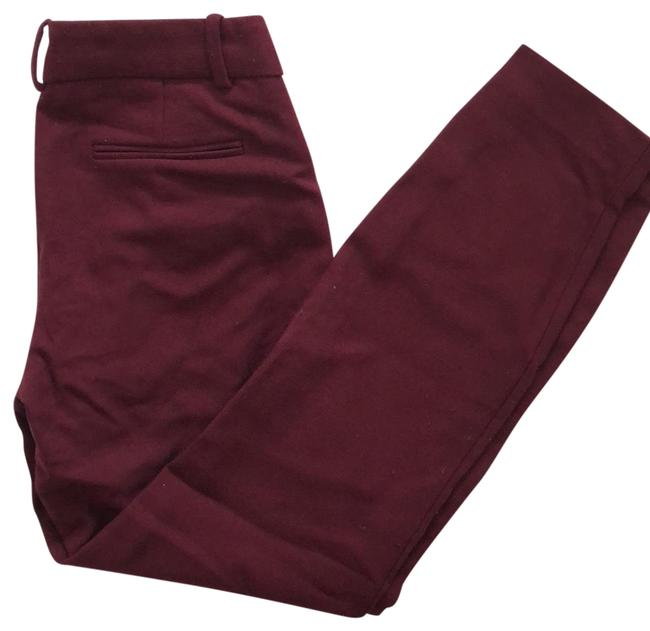 Preload https://img-static.tradesy.com/item/25839105/jcrew-burgundy-minnie-pants-size-00-xxs-24-0-1-650-650.jpg