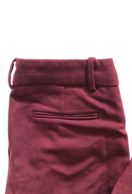 J.Crew Trouser Pants Burgundy Image 1