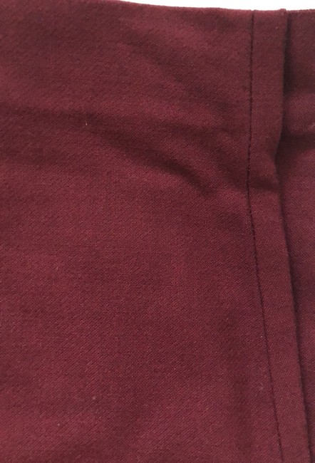 J.Crew Trouser Pants Burgundy Image 2