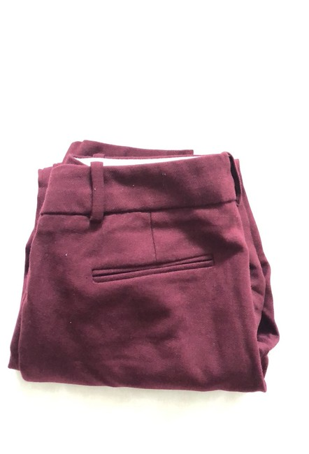 J.Crew Trouser Pants Burgundy Image 4