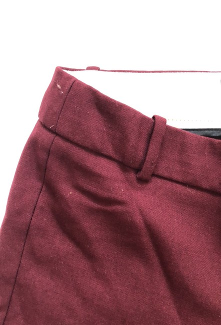 J.Crew Trouser Pants Burgundy Image 7