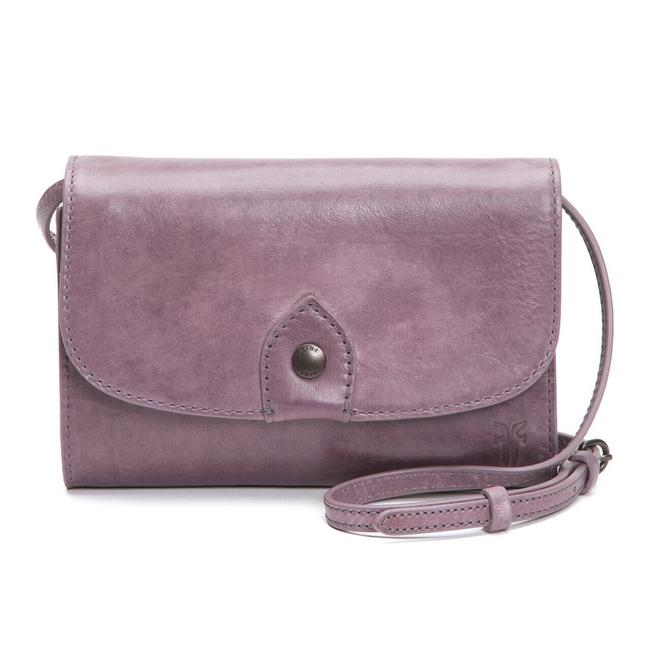 Item - Melissa Wallet Lilac Leather Cross Body Bag