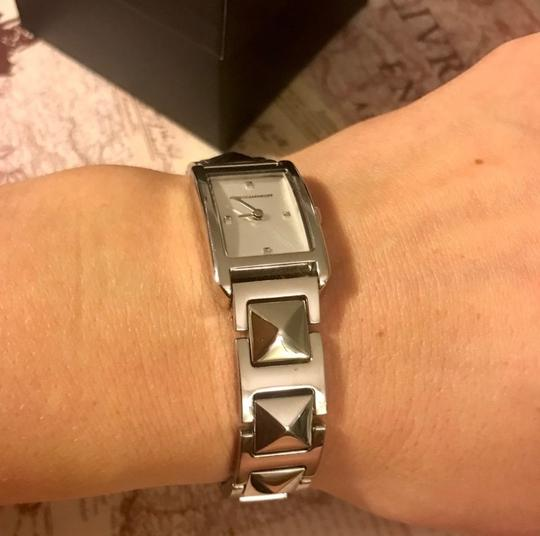 Rebecca Minkoff Moment Silver Tone Bracelet Watch, 19MM Silver Image 7