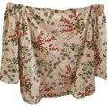 Charming Charlie Top cream/red/green Image 0