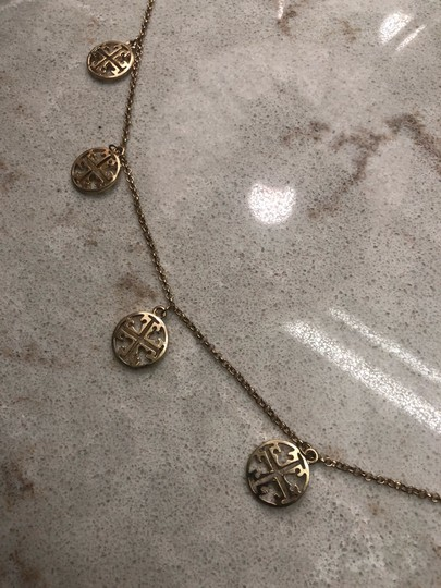 Tory Burch logo necklace Image 1